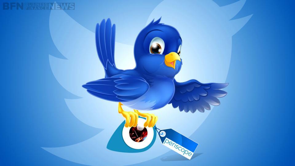Twitter ajoute les flux vidéo de Periscope sur iOS