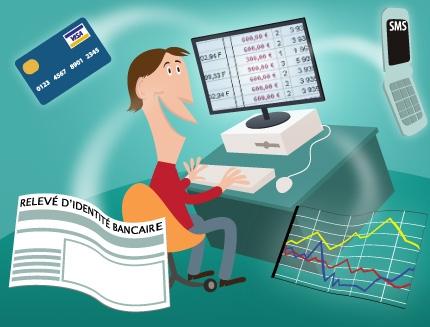 Posséder un compte bancaire dans une banque en ligne moins chère