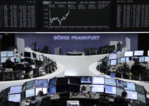 Les Bourses européennes maintiennent leur rebond à mi-séance